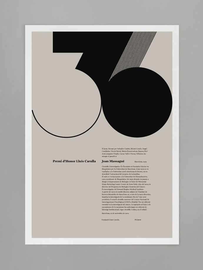 Great typography. The use of space, shape and balance is perfect.