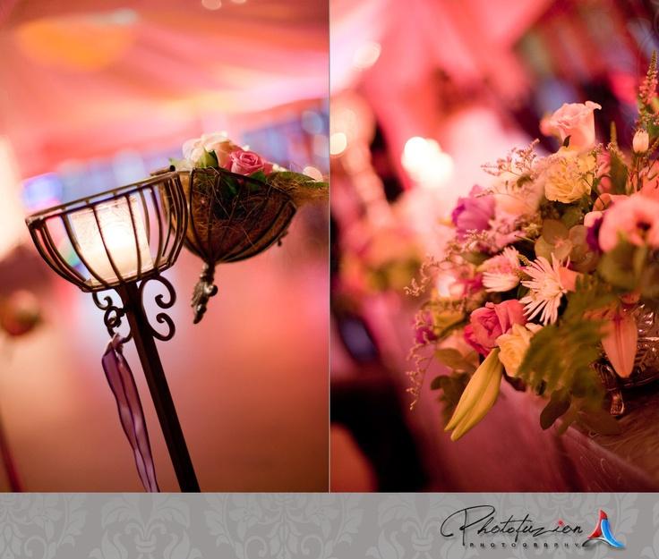 stunning colourful #wedding décor