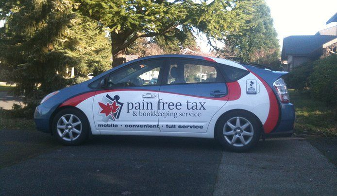 Pain Free Tax & Bookkeeping Services Despite popular opinion... taxes don't have to hurt! Let Tiffanie show you how easy she can make it for you.  We have the skills, experience and expertise to take the stress and worry out of filing your taxes and taking care of your business. So you can focus on what matters. And we'll even come to you!!  http://www.painfreetaxes.ca/