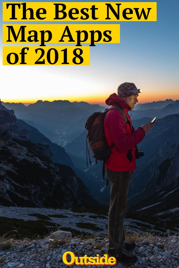 5e718990ef The Best Map Apps for Navigating the Wilderness  app  map  hiking  adventure