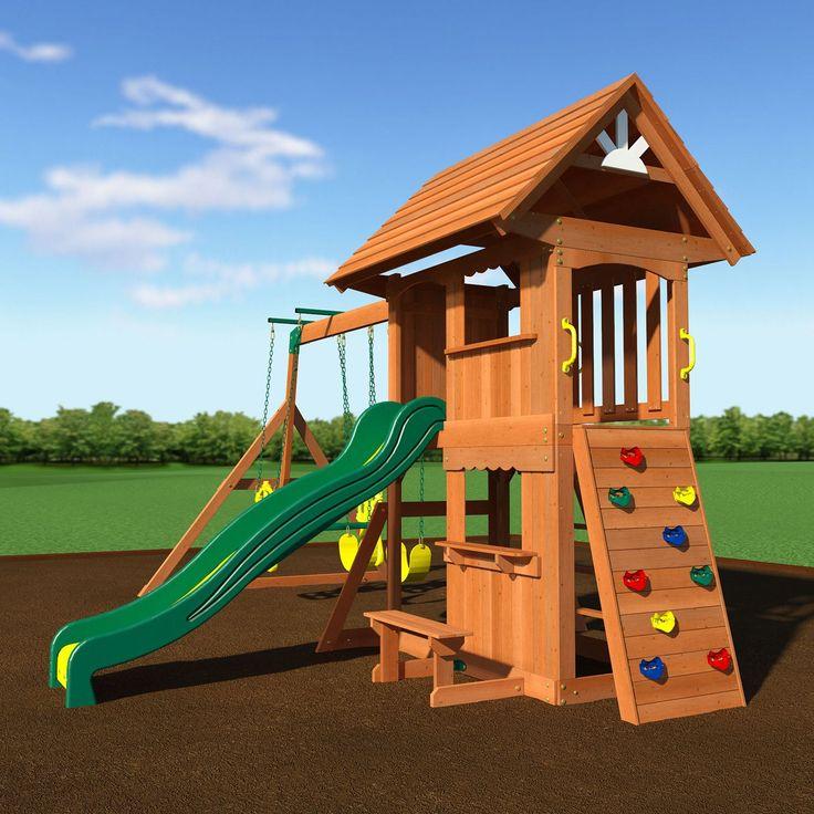 swing set free installation 1