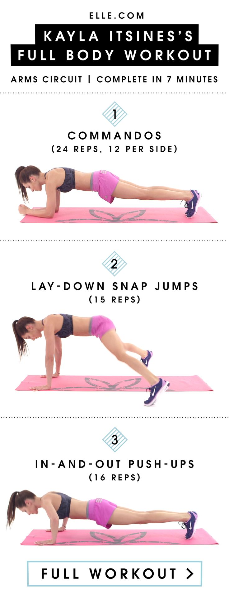 Get Toned Arms for 2016 With These 3 Exercises from Kayla Itsines  - ELLE.com