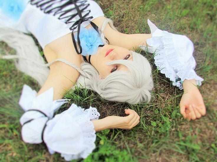 Pandora Hearts White Alice Cosplay https://instagram.com/li1512/