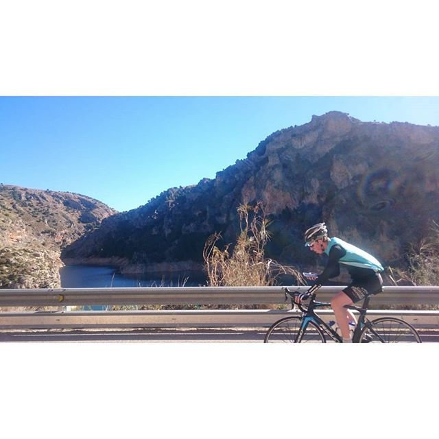 #Cycling in the Sierra Nevada mountains, Alpujarras, Granada, Andalucia, Spain