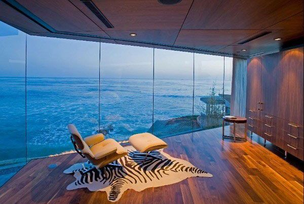 The coziest nook I've ever seen!Lounges Chairs, Dreams Home, Beach House, The Ocean, The View, Dreams House, La Jolla, Ocean View, Oceanview