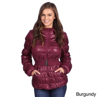 White Mark Women's Puffer Coat - 15686207 - Overstock.com Shopping - Top Rated White Mark Jackets