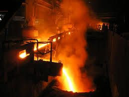 production of liquid #steel