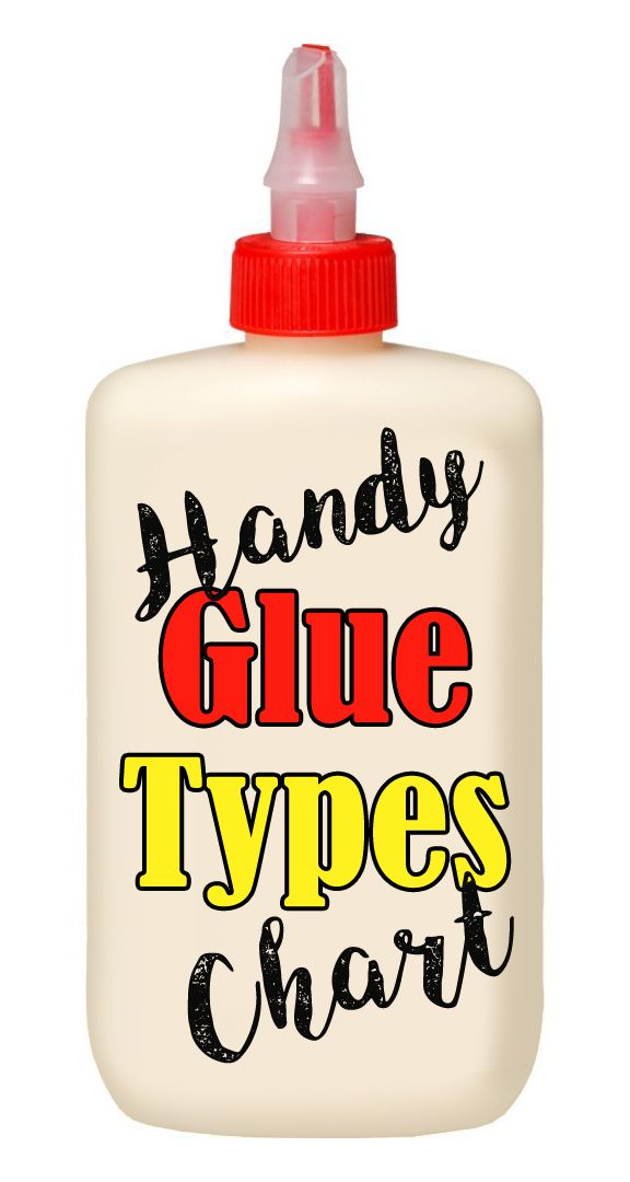 A complete guide of properties, uses and additional facts for more than 45 types of glues and adhesives.