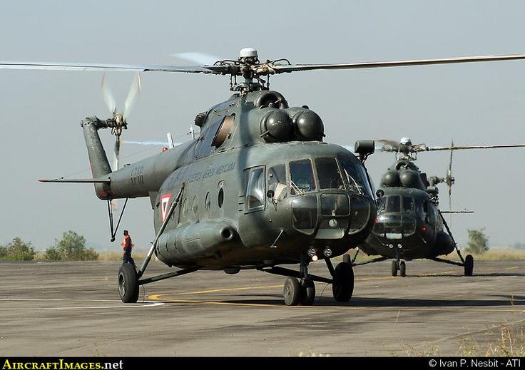 Photo: Mexico Air Force Mil Mi-8 1718 Santa Lucia - Mexican Air Force ...
