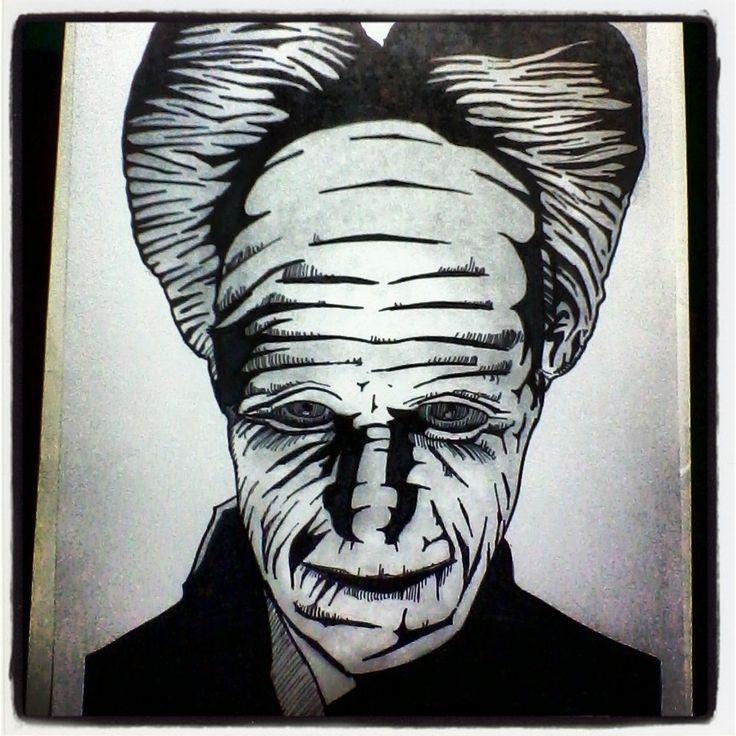 Drácula - Gary Oldman.  Retrato Técnica Tradicional.  #ilustración #retratos #dibujo #draw #sketch #art #arte #terror #horror #dracula #vampiros #vampiro #sangre #terrorfilms #películas #movies #bramstoker #garyoldman