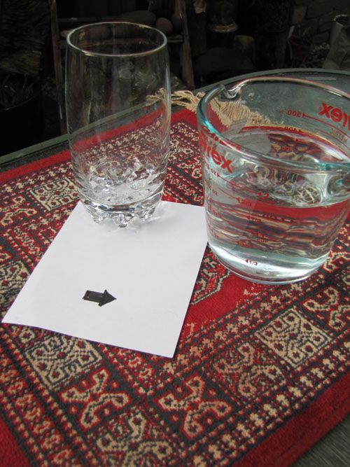 Play-based learning is at your fingertips when you use water to teach the science of refraction (in what your kids will see as a cool magic trick!)