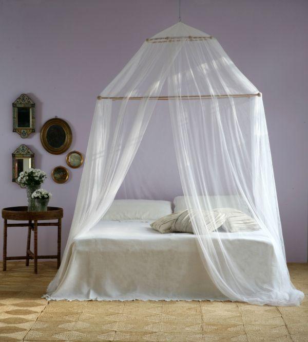 Moustiquaire pour lit d'adulte TINA Grigolite