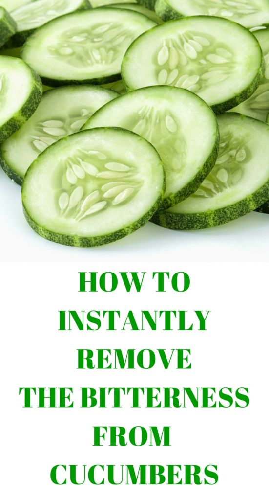 Cucumbers are a healthy snack, but they often have a bitter taste. Yes, you can…
