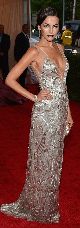 Camilla Belle at the Met Costume Institute Gala 2012