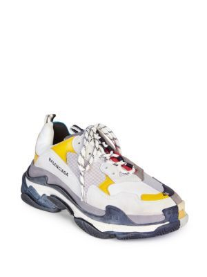 newest 5a5f2 27b52 BALENCIAGA Triple S Half and Half Sneakers. balenciaga shoes