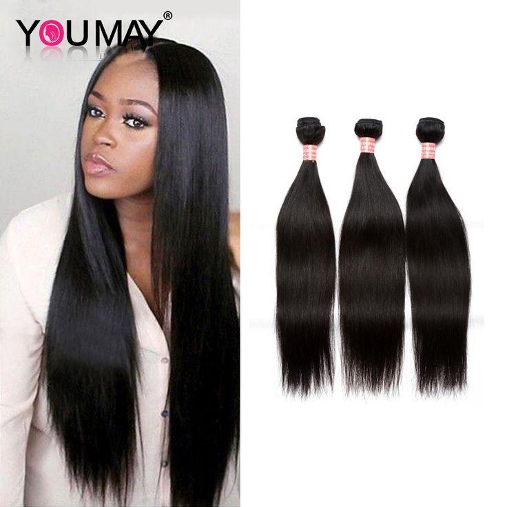 Mink Brazilian Straight Hair Weave Bundles 3Pcs/lot Human Hair Extensions Cheap Brazilian Virgin Hair Bundles
