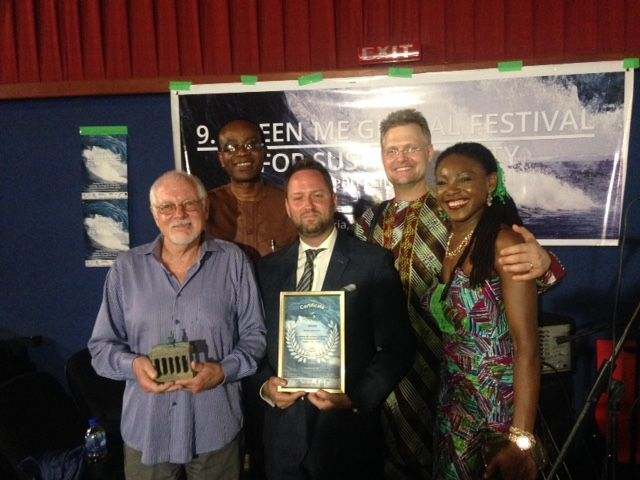 """So delighted to report that the film Nowhere to Run: Nigeria's Climate and Environmental Crisis has won the Grand Jury prize at the """"Green Me"""" environmental film festival in Lagos…"""