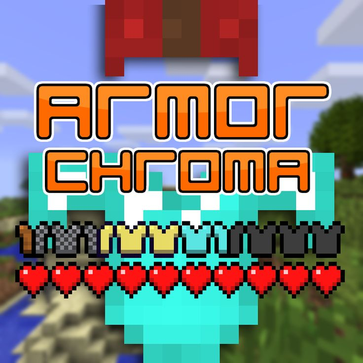 Download Armor Chroma Mod 1.13/1.12.2/1.11.2 - A Forge mod which adds a more descriptive armor bar with material, enchantments and leather color....