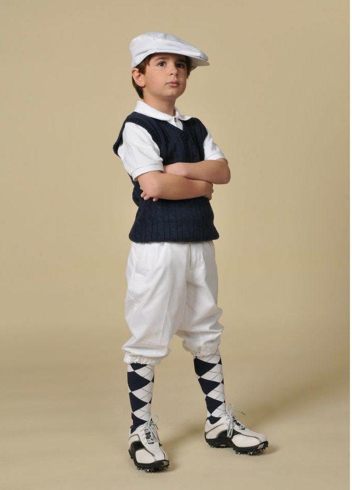 Children's Classic Stewart Golf Knickers - http://www.kingscrossknickers.com