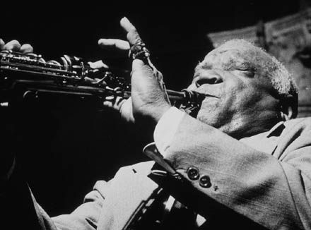 PLEASURE FOR THE EAR : AMERICAN JAZZ ICON Sidney Bechet settled permanently in Paris where he became a much-revered national hero