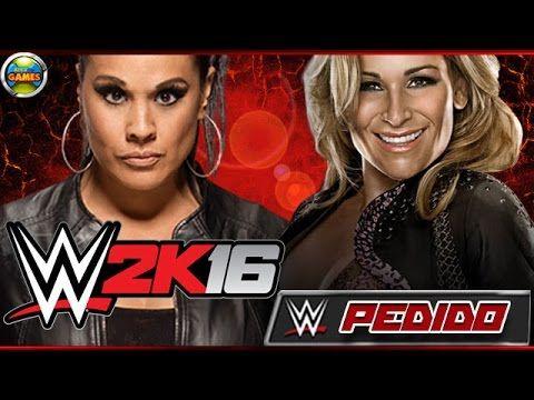 WWE 2K16: Tamina Snuka vs Natalya - PEDIDO
