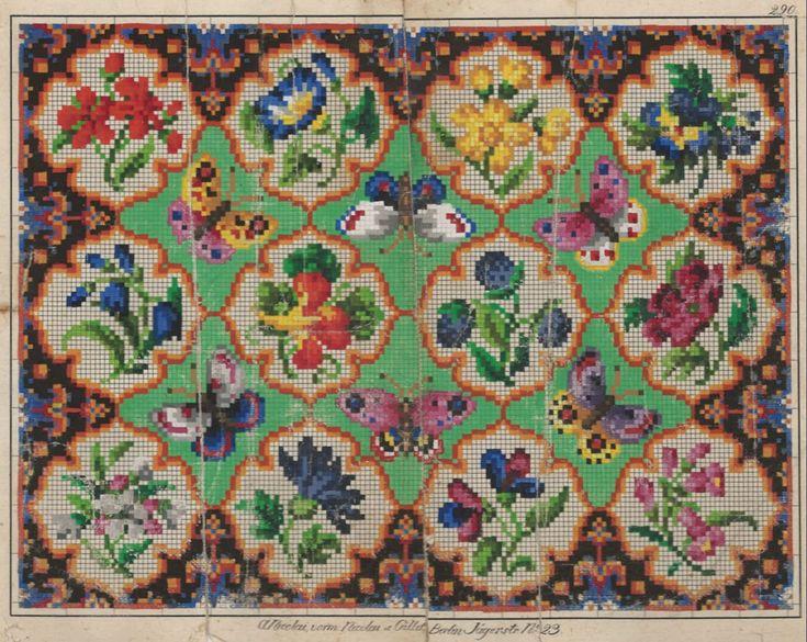 A Beautiful Berlin WoolWork Pattern