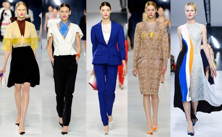 Круизная коллекция Christian Dior 2014 #burdastyle #burda #мода #fashion