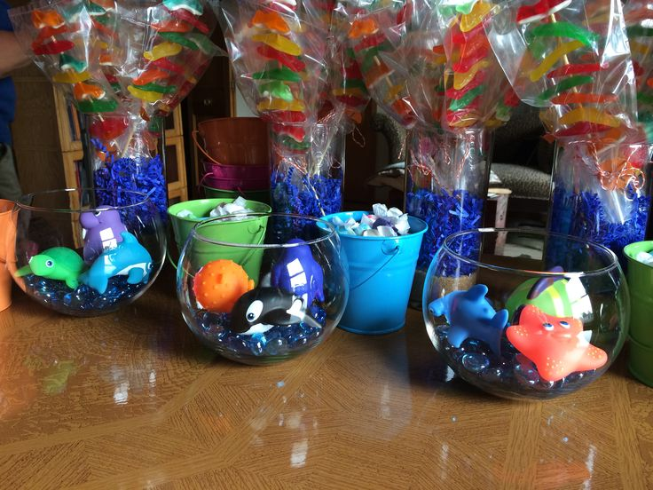 Centerpieces For Under The Sea Baby Shower