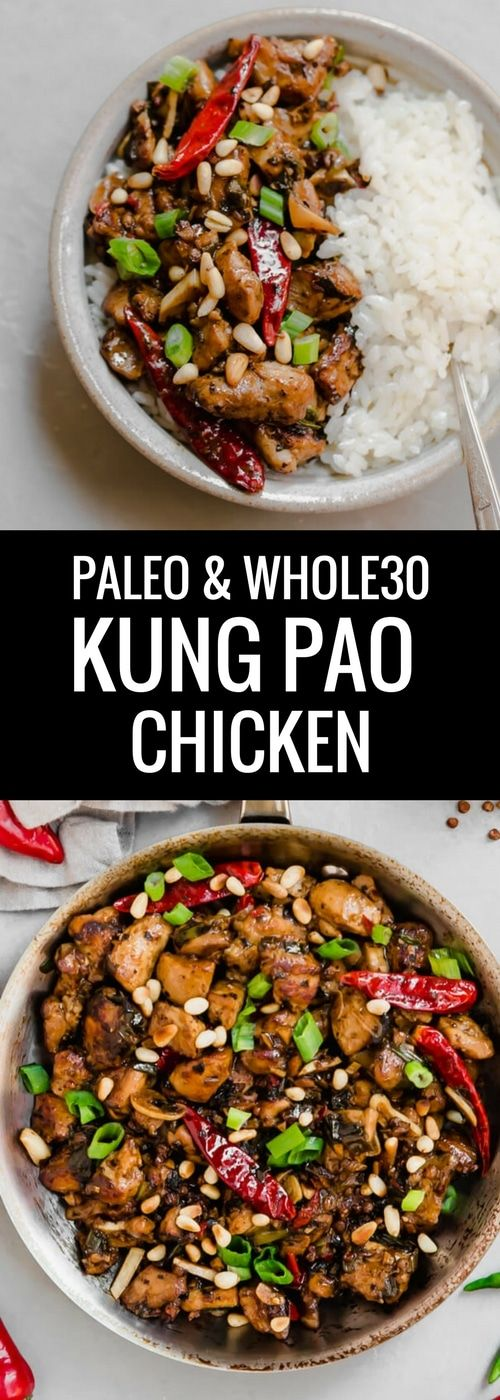 Paleo Kung Pao Chicken I whole30