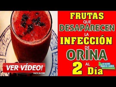 COMO CURAR LA INFECCION URINARIA - CON ESTA FRUTA CUALQUIER INFECCIÓN DE ORINA DESAPARECE AL 2do DÍA - YouTube