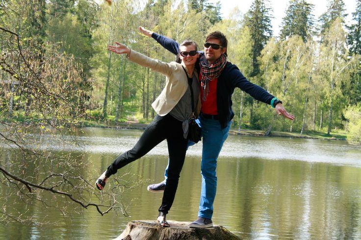 Aino & Janne Aulangolla. :)
