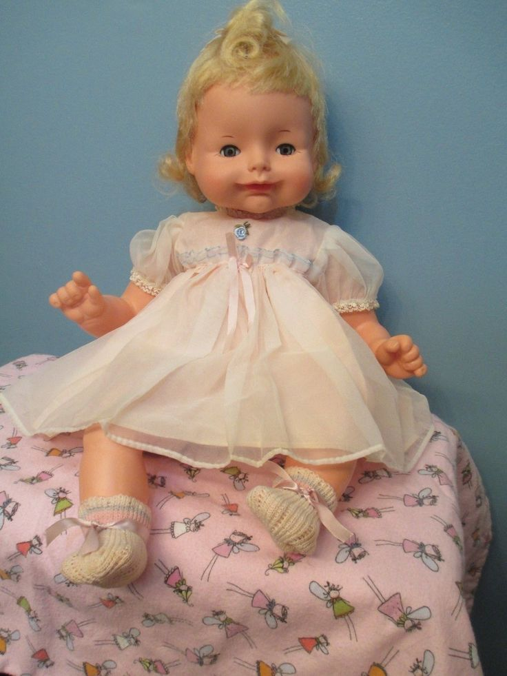 Gorgeous Vintage Quot Baby Precious Quot Baby Doll By Quot Irene Szor