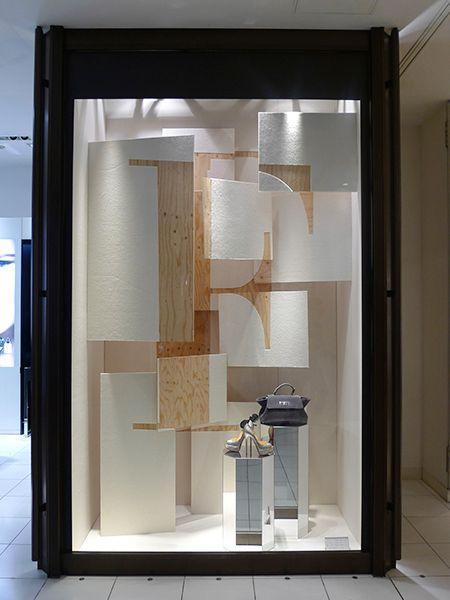 """ISETAN SHINJUKU, Tokyo, Japan,Instore Display, """"Law Comfort"""", by MADO DESIGN, pinned by Ton van der Veer"""