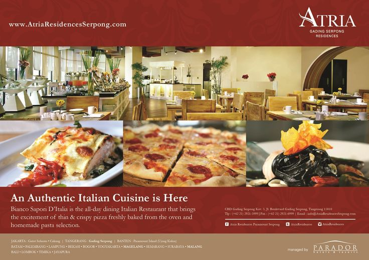 An Authentic Italian Cuisine is Here..!!