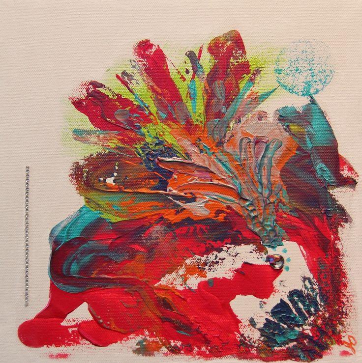 Inspirée par mon amie et artiste Marie-France Dupuis. Créative et pétillante!