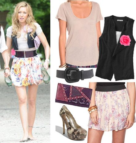 Outfit inspired by Emma Perkins from Monte Carlo, played by Katie Cassidy