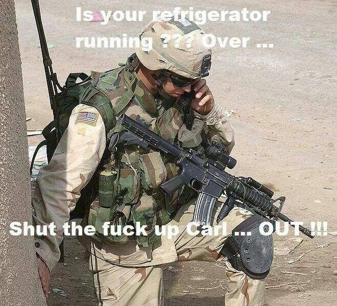 Pin by Tammy Ollis on Dammit Carl | Army humor, Military ...