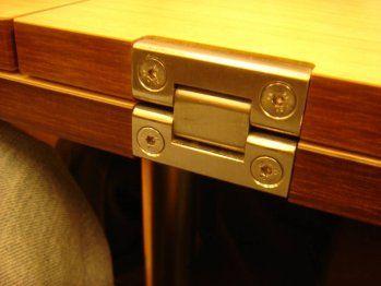 17 mejores ideas sobre mesas plegables de madera en for Bisagras para muebles de madera