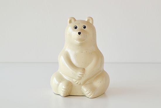 フィンランド/Polar Bear Money BOX/白くまの貯金箱 - 北欧、暮らしの道具店