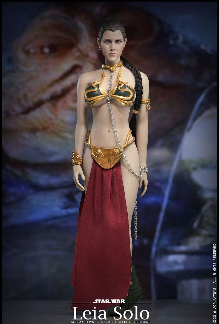 ==> [Free Shipping] Buy Best 1/6 Star Wars Slave Princess Leia Dress Suit & Head Sculpt Accessories Fit for 12 inches ACPLAY PH Jiaodoll body Figure Online with LOWEST Price | 32725248919
