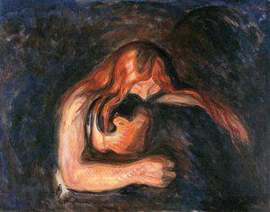 Love and Pain (1895), Edvard Munch