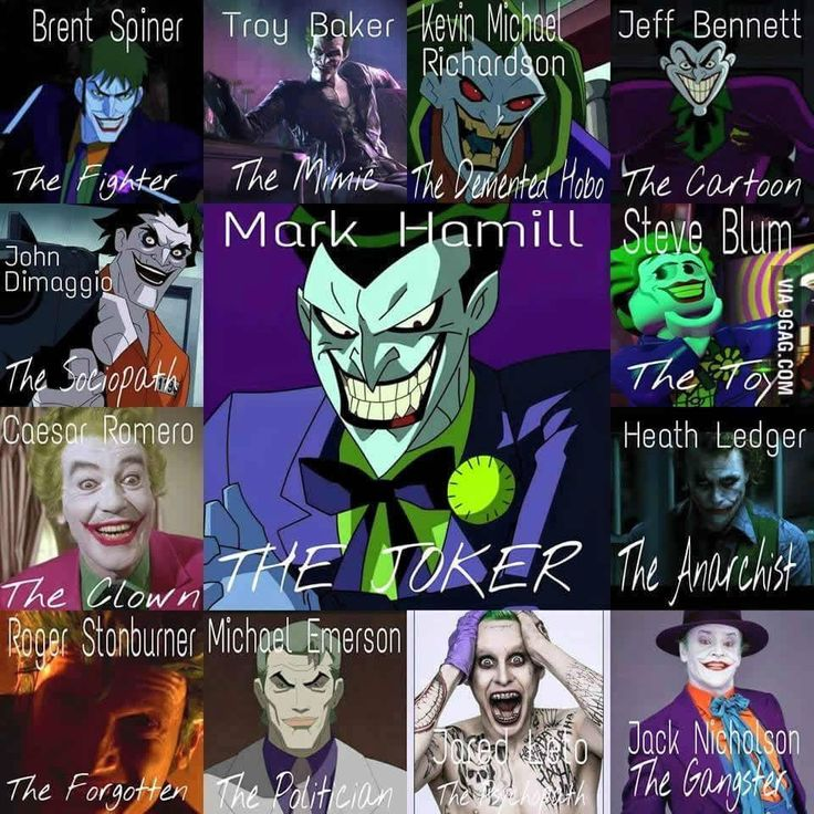 Who is your favorite Joker? Voice actor mark hamill was the best next to heath ledger