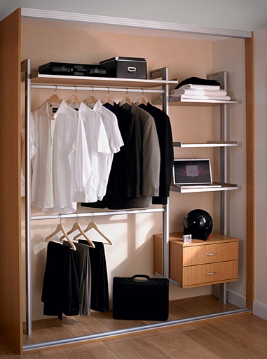 #Wardrobe #Storage   Top Rail For Shirts And Jackets, Bottom Rail For  Trousers