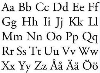 The Swedish Alphabet – Swedish Culture for kids   Dino Lingo Educational Blog http://dinolingo.com/blog/2013/09/20/the-swedish-alphabet-swedish-culture-for-kids/#.VZ4XG_ntmko #swedishalphabet   #learnswedish   #swedishlanguage