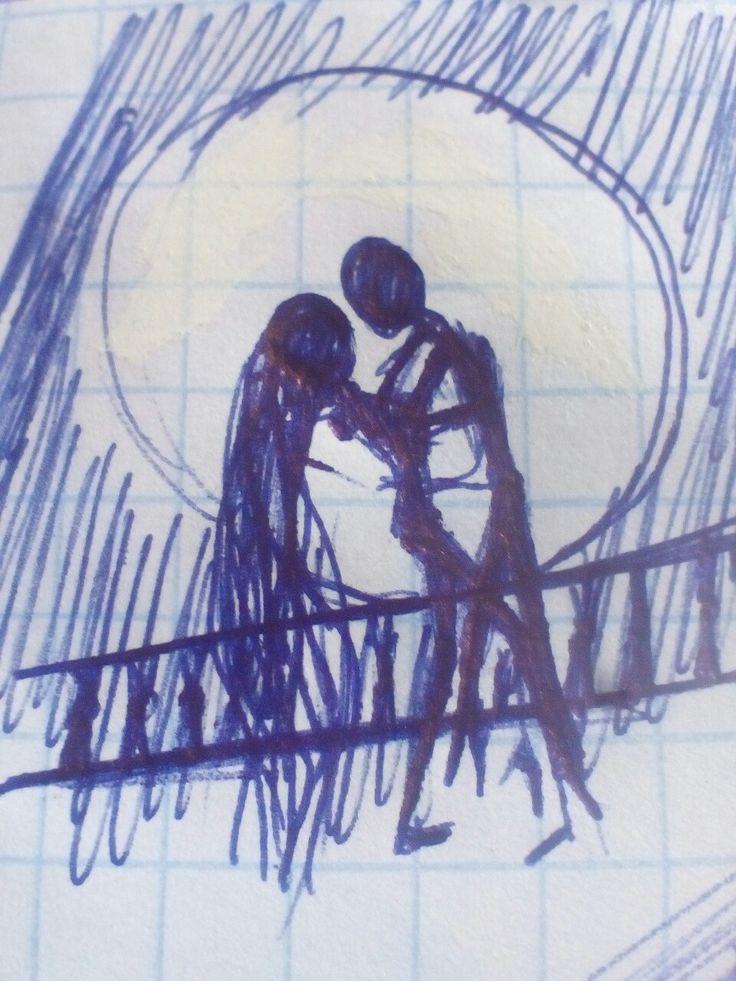 Рисунки ручкой Чс*
