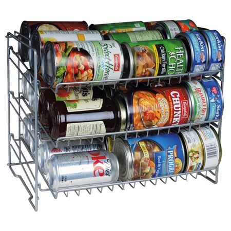 Can Rack - to keep the pantry organized.