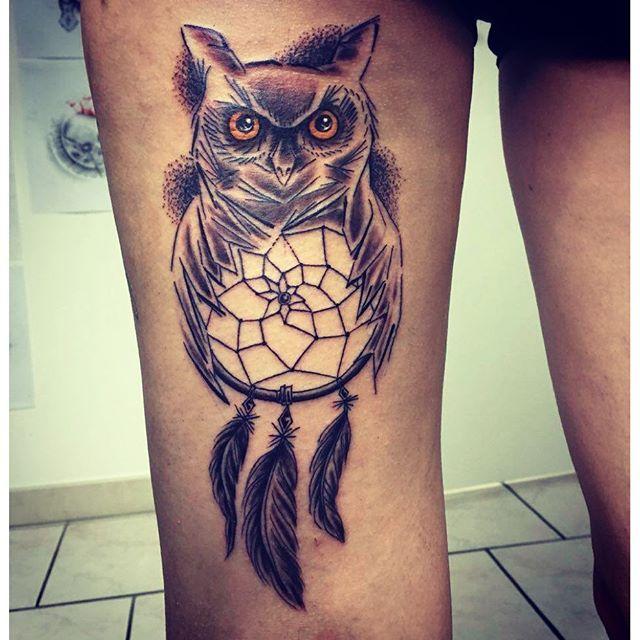 plume tattoo