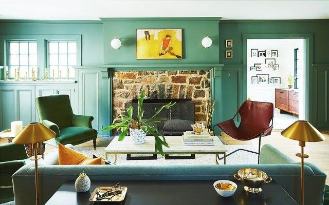14 Green Paints That Won't Make Your House Feel like St. Paddy's on Food52