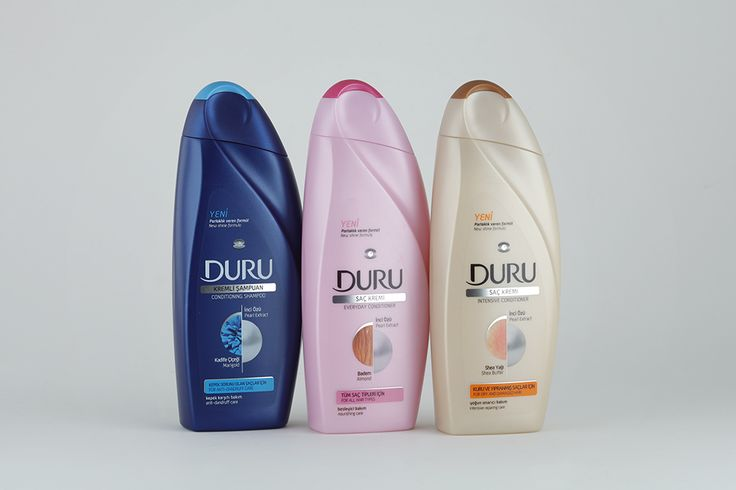 Duru Hair Conditioner #packaging #graphics