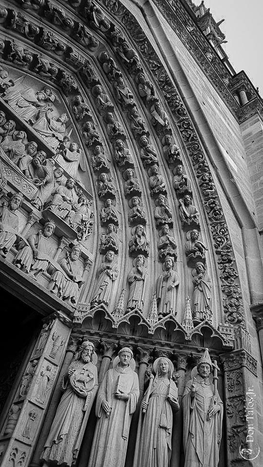 ' I call architecture frozen music ' Johann Wolfgang von Goethe   #architecture; #Cathedrale Notre-Dame de Paris   www.talosdarius.ro